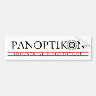 PANOPTIKON - Industrial Discotheque Bumper Sticker