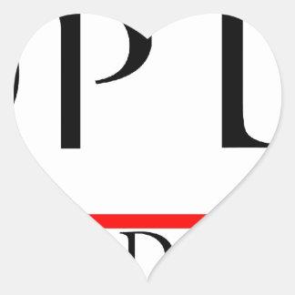PANOPTIKON - Industrial Discotheque Heart Sticker