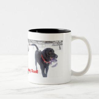 panorama 074, DSCN0026, Good Morning Dad! Two-Tone Coffee Mug