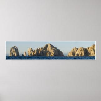 Panorama 1 de Cabo Poster