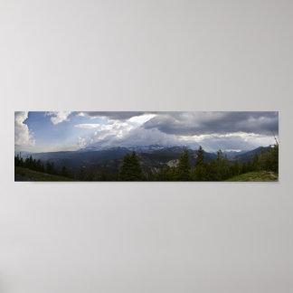 Panorama 2 de Vista de los alminares Póster