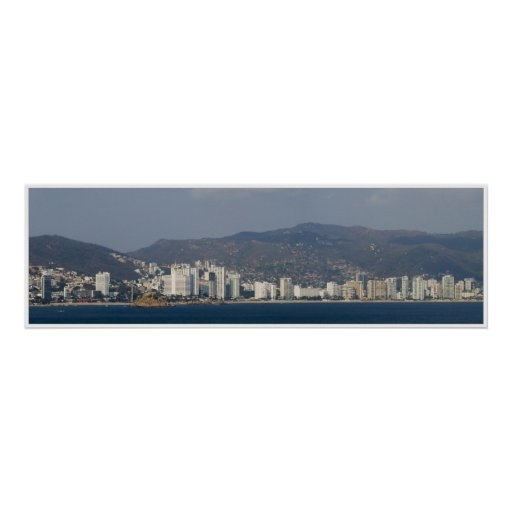 Panorama 3 de Acapulco Impresiones