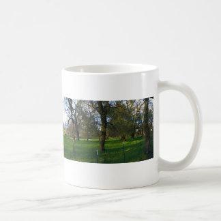 Panorama 9 classic white coffee mug