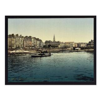 Panorama and bourse from La Gloirette (i.e., Glori Post Card