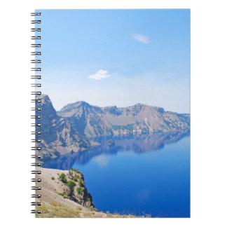 Panorama Crater Lake Notebook