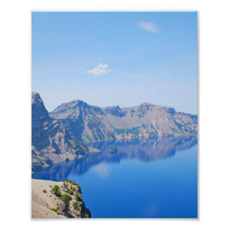 Panorama Crater Lake Poster