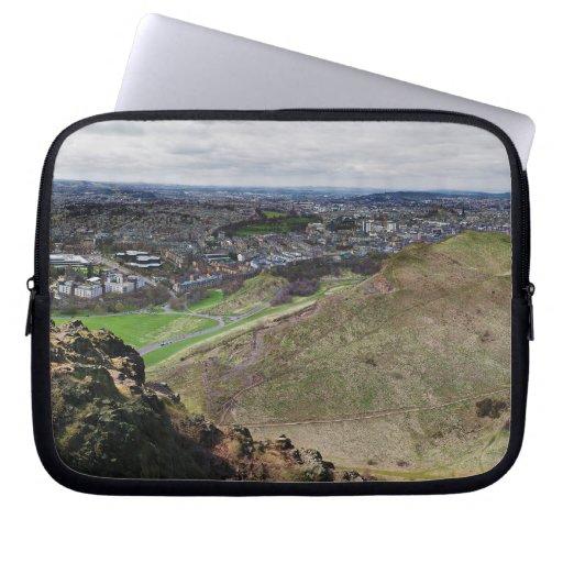 Panorama de Edimburgo Escocia de Seat de Arturo Funda Portátil