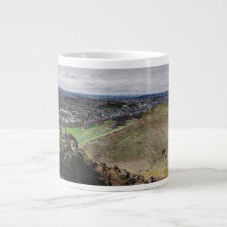 Panorama de Edimburgo Escocia de Seat de Arturo Taza Grande