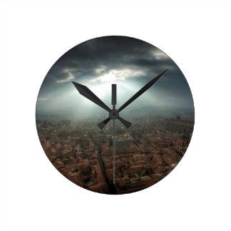 Panorama de Florencia Reloj Redondo Mediano