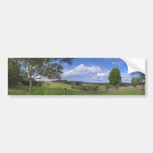 Panorama de Kuranda Pegatina De Parachoque