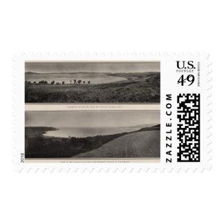 Panorama de la bahía del Golden Gate de Presidio Sellos Postales
