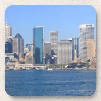 Panorama de la ciudad de Sydney Posavasos De Bebidas