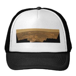Panorama de la colina de Matijevic de Marte Rover Gorro De Camionero