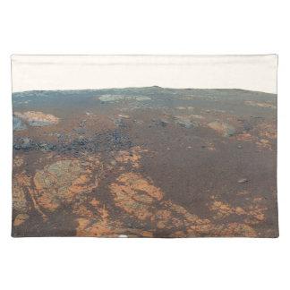 Panorama de la colina de Matijevic de Marte Rover Mantel
