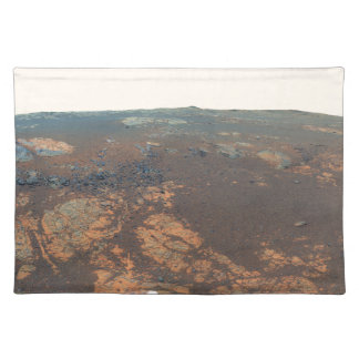 Panorama de la colina de Matijevic de Marte Rover Manteles