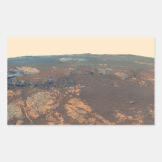 Panorama de la colina de Matijevic de Marte Rover Rectangular Altavoz