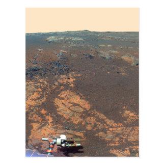 Panorama de la colina de Matijevic de Marte Rover Postal