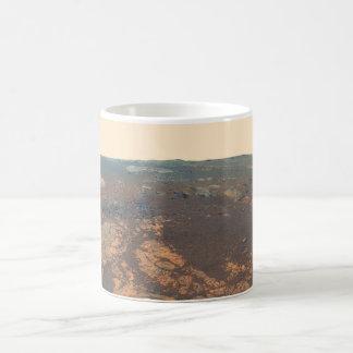 Panorama de la colina de Matijevic de Marte Rover Tazas