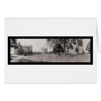 Panorama de la foto 1909 de Princeton Tarjeta De Felicitación