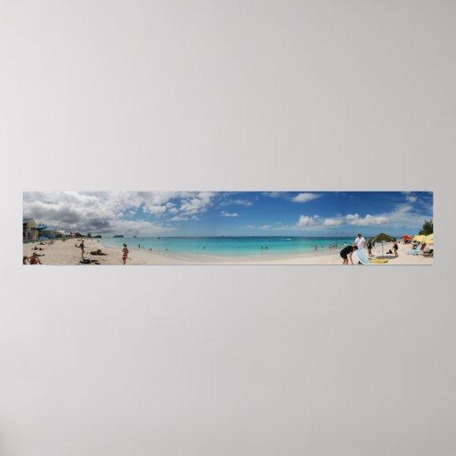 Panorama de la playa de siete millas impresiones