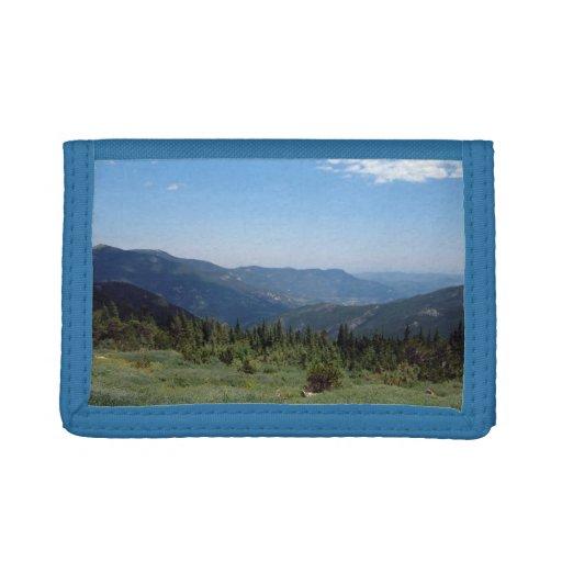 Panorama de las montañas rocosas de Colorado