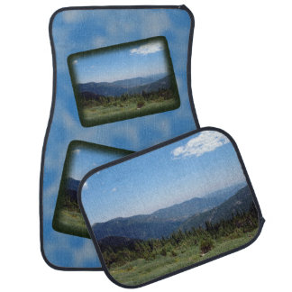 Panorama de las montañas rocosas de Colorado Alfombrilla De Auto