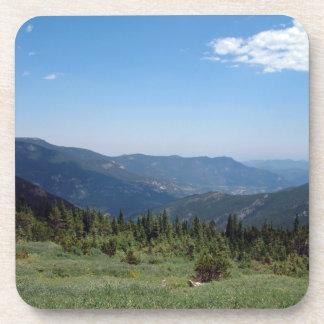 Panorama de las montañas rocosas de Colorado Posavasos