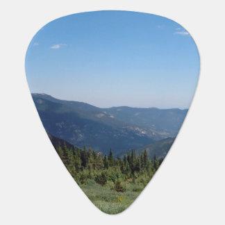 Panorama de las montañas rocosas de Colorado Púa De Guitarra