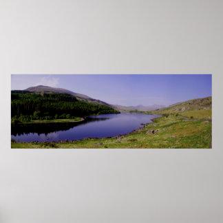 Panorama de Llynnau Mymbyr Impresiones