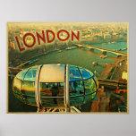 Panorama de Londres Impresiones