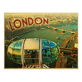 Panorama de Londres Tarjetas Postales