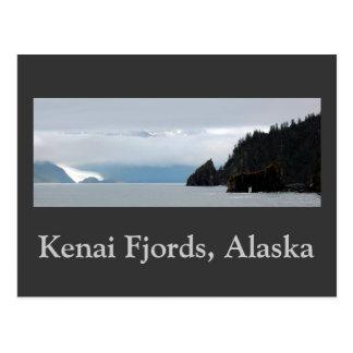 Panorama de los fiordos 30inch de Kenai, fiordos Postal