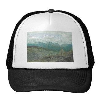 Panorama de los picos de montaña de Adirondack Gorras De Camionero