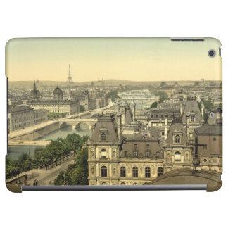 Panorama de los siete puentes, París, Francia