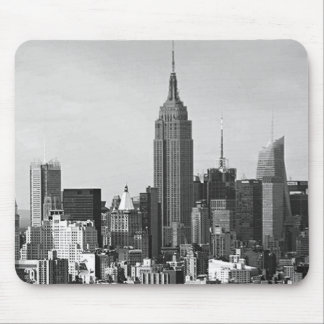 Panorama de New York City Mouse Pads