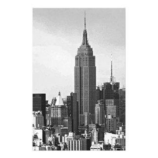 Panorama de New York City Papelería De Diseño