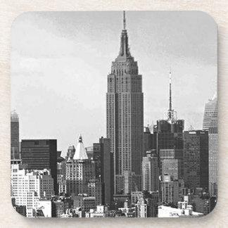 Panorama de New York City Posavasos De Bebidas