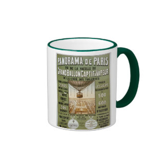 Panorama de Paris 1878. Coffee Mugs