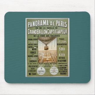 Panorama de París 1878. Alfombrilla De Ratón