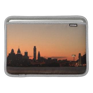 Panorama de Philadelphia, Pennsylvania Fundas Macbook Air