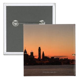 Panorama de Philadelphia Pennsylvania Pin