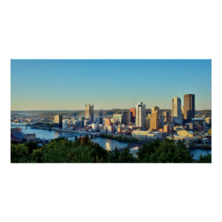 Panorama de Pittsburg céntrica Impresiones