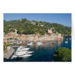 Panorama de Portofino Tarjeta