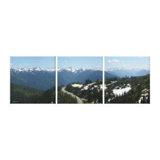 Panorama de Ridge del huracán (el Multi-Panel) Impresión En Lienzo