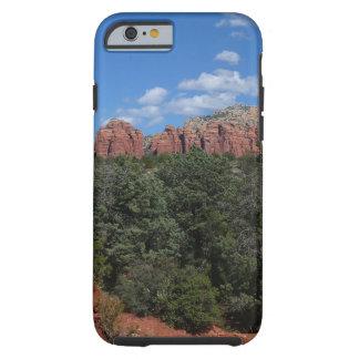 Panorama de rocas rojas en Sedona Arizona Funda Resistente iPhone 6