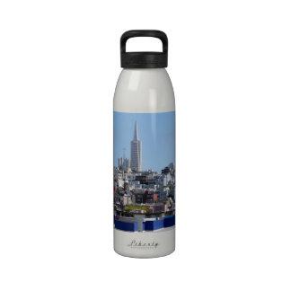 Panorama de San Francisco Botella De Beber
