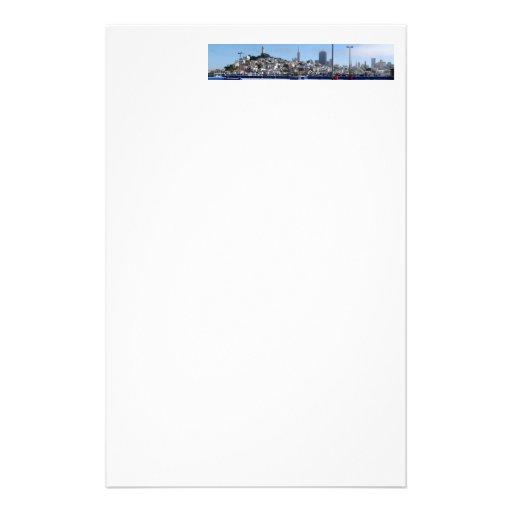 Panorama de San Francisco Papelería Personalizada