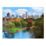 Panorama del Central Park de New York City Postales