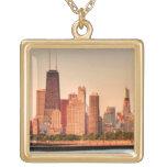 Panorama del horizonte de Chicago en la salida del Colgante Cuadrado