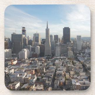 Panorama del horizonte de San Francisco Posavasos De Bebida